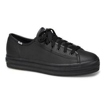 Zapatilla Triple Kick Leather Black