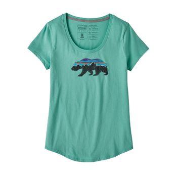 Polo Mujer Fitz Roy Bear Organic Scoop T-Shirt