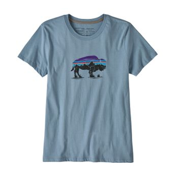Polo Mujer Fitz Roy Bison Organic Crew T-Shirt