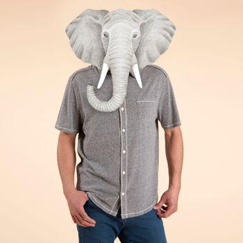 Camisa  Jersey para Hombre - Melange Grey