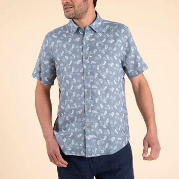 Camisa  Nature para Hombre - Feathers Blue