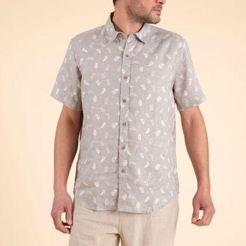 Camisa  Nature para Hombre - Feathers Grey