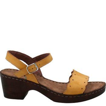 Sandalia Greck para Mujer - Mustard